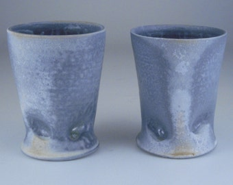 Pair of Pinched Tumblers