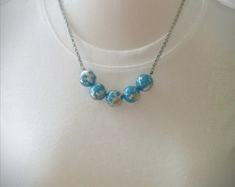 All Around the World necklace