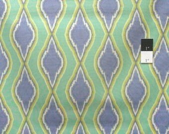 Ty Pennington PWTY048 Diamond Citron Cotton Fabric By The Yard