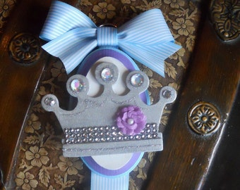 REDUCED Hair Bow Holder With Crown