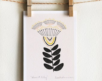 Desert Lily 5 x 7 Print