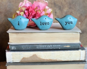 Gifts for her / i love you birds / Christmas gifts for mom wife girlfriend sister friend grandma teenager mother