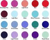 3/8 inch Solid Grosgrain Ribbon - Choose Color, Yardage - DIY Hair Bow Supplies, Ribbon