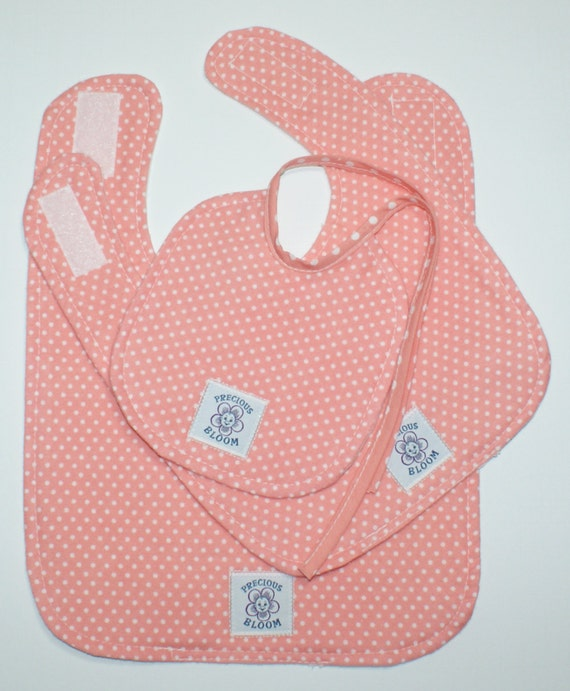 So Soft Organic Bib Sets (Small, Medium, Large)