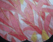 Pink Orchids Japanese Fashion Tissue Paper for Art and Craft