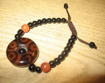 Good Luck Good Health Ethnic Look Amulet Omamori Bracelet