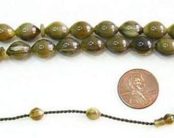 Prayer Beads Sandalous Tesbih Turkish Amber Catalin - SUFI CARVING - COLLECTOR'S