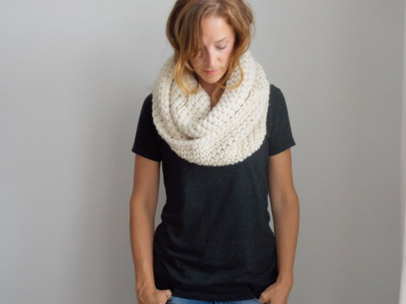 Chunky Infinity Scarf | style #1001