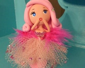 For Jay OOAK Polymer Clay Starlet from the 60s