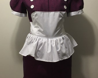 Bioshock Little Sister Dress Pink Stripe Small