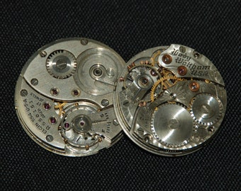 Gorgeous Vintage Antique Watch Movements Steampunk Altered Art Assemblage Industrial CD 51