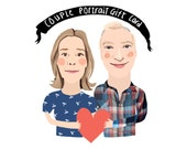 Couple Portrait Gift Certificate ONLY FIVE AVAILABLE