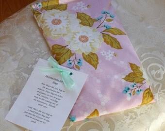 Girl Rice Bag, Heating Pad, Promenade, Therapeutic, Purple, Flowers, Floral, Large