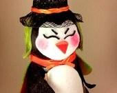 The Pot n' Penguin witch penguin