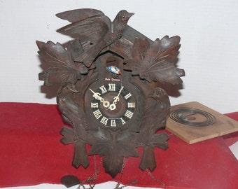 Seth Thomas Project Cuckoo Clock  - Vintage - Project Clock