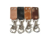 Leather Keychains, Leather Key Fob, Keychains for Men, Gifts Under 25, Key Fobs, Leather, Key Chain