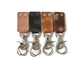 Leather Keychains, Leather Key Fob