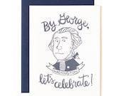 Washington Illustrated Card