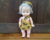 Vintage Bam Bam Doll Ideal Toy Corp 1965