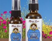 Soothing the Angry Heart, Anger, Unscented Flower Essence Spray, Organic, Reiki-Infused, Body, Aura, Room