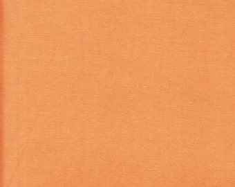 Free Spirit Designer Solids Mango Orange by the yard