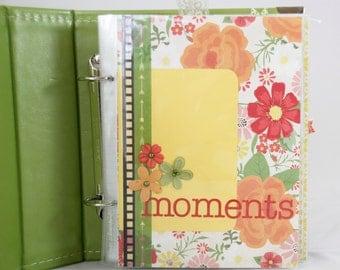 Moments Scrapbook Album