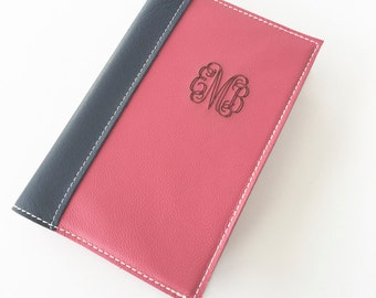 Monogrammed Planner Cover - Custom Sized to fit your planner, any size