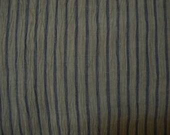 Vintage kimono S188, hemp, olive drab