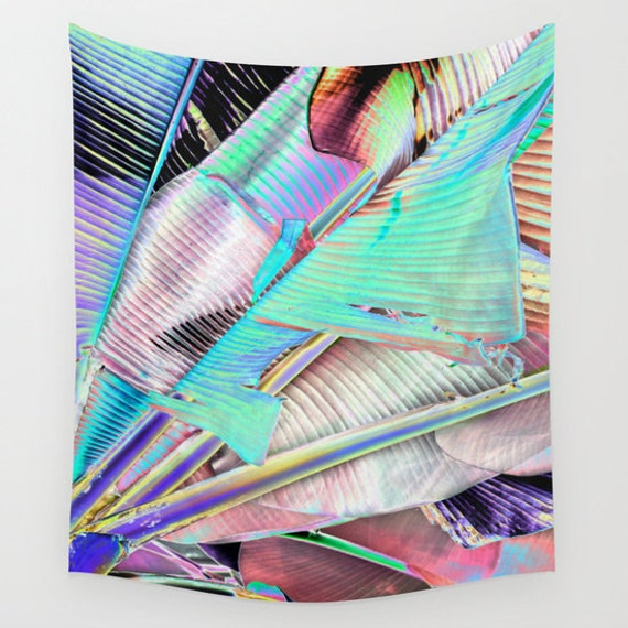 Another Day in PARADISE Wall Tapestry, Tropical Large Size Wall Art, Fine Art Photography, Modern Decor, Nature, Beach Hut Decor, Abstract