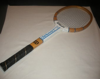 Vintage Chris Evert  American Star Wilson Wooden Tennis Racquet