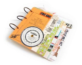 Road Trip Mini Journal/ Album/ Memory Book