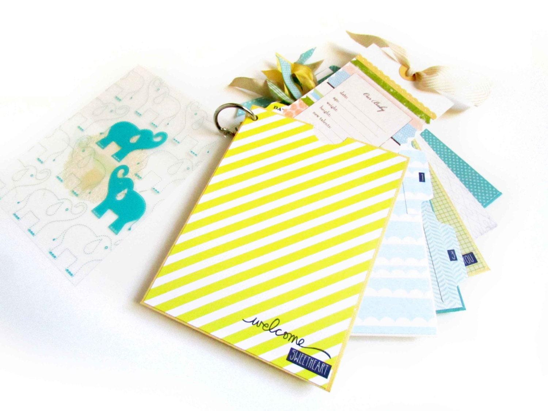 Your 1st Year Baby Boy Mini Pocket Album By