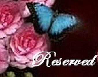 kippen3 RESERVED ORDER Glass Beaded Red Wine Velvet Fabric Rose Flower alligator Clip Hair Accessory