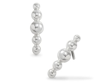 5 Ball Stud Earrings