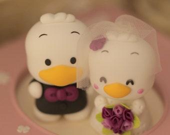 Custom Order Deposit for the lovely Wedding Cake Topper (K107)