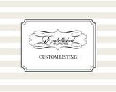 Custom Corset Cards for Annika