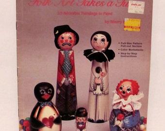 Folk Art Takes a Turn by Sherry Robinson Book