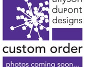 Custom Large Salon Planner - P153