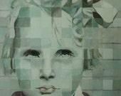 Limited Edition Print, 12 x 12 inches - Elsie by Elizabeth Bauman
