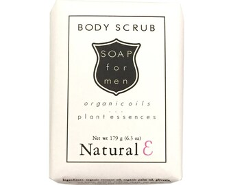 Mens Soap--Man Soap--Soap for Men--Body Scrub Soap--Man's Soap Bar