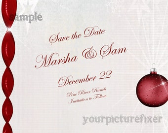 Christmas Venue Save the Date