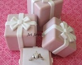 Pink Gift Boxes, Pink Boxes, Gift Boxes, Favor Boxes, Wedding Favor Boxes, Wedding Ring Box, Engagement Ring Box, Small Boxes 1.75x1.75x1.75