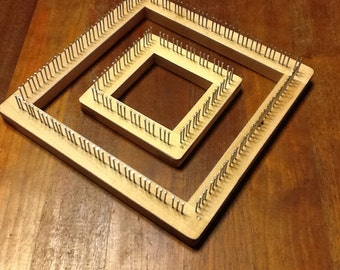 3-6 Traditional Mini Loom Set in Maple