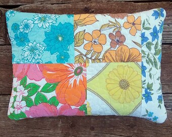 Heat Pack Lavender and Rice Upcycled Vintage Sheets