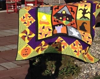 Halloween Sampler Quilt