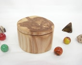 Maple Driftwood Box, engagement ring box, proposal box, gift for groom, best man gift, ring bearer box, guitar pick holder, cuff links box