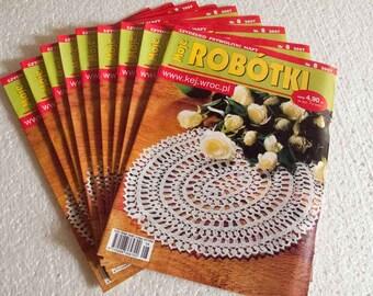 READY STOCK: Moje Robotki edition with Jan Stawasz's Big Doily pattern