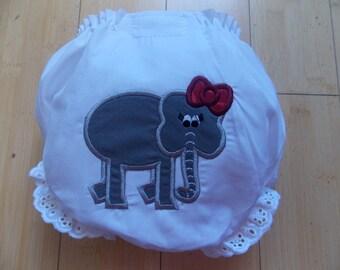 Alabama Girl Diaper Cover Bloomer Infant Toddler Bama Baby
