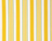 Butterfly Garden Stripe Yellow - PWDF230 Dena Designs Dena Fishburn 100% Quilters Cotton Available in Yards, Half Yards and Fat Quarters