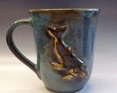 Coffee,tea mug with humpback whale Made to order